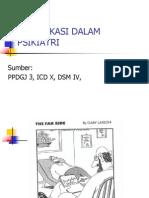 1-Classification in Psychiatry
