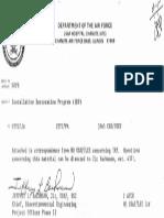 AF Letter 4.4.85