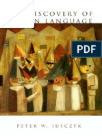 Peter W. Jusczyk - The Discovery of Spoken Language