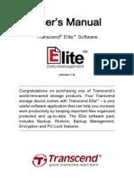 Transcend Elite Software Manual