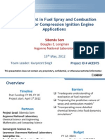 Advancement in Fuel Spray and Combustion