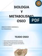 Biologia y Metabolismo Oseo - Angie