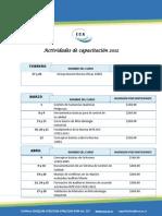 Cronograma 2012 - ECA