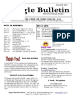 Beagle Elementary School Newsletter March 28, 2014
