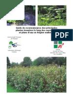 Guide Reconnaissance Des Principales Plantes Invasives Long Des Cours d'Eau