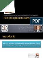 Petições para iniciantes - Fabiano Rabaneda