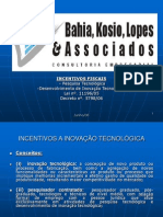 Regulamentação Inovação Tecnológica