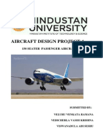 Aircraft Design Project - 150 seater passenger aircraft