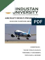 Aircraft Design Project - 150 seater passenger aircraft