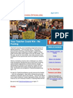 PublicSchoolOptions.org April 2014 Newsletter