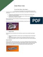 Prinsip Kerja Mesin Motor