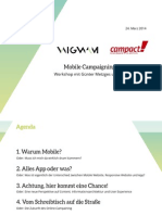 Mobile Campaigning - Und dann?