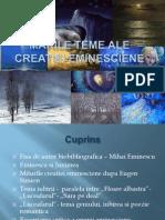 Marile Teme Ale Creatiei Eminesciene 2003