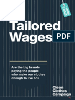 Tailored Wages Report