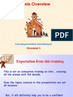Unix Training by Dhanabal