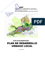 Manual Para La Elaboracion Del Plan de Desarrollo Urbano Local Pdul