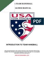 Handball Basics for Coaches 101