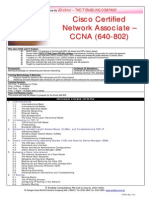 Brochure CCNA 640-802 Ver1104