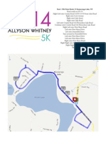 2014 AWF Race Course Map and Directions