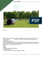 Areas Verdes Urbanas Vegetacion y Naturaleza