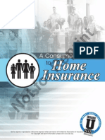 Consumers Guide to Home Insurance