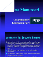 María Montessori  31 de marzo