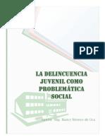 Delincuencia Juvenil Como Problematica Social