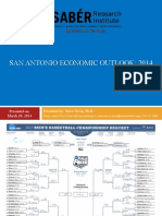 SABÉR Economic Forecast for San Antonio March 2014