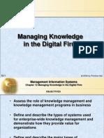 managing mode in digital firm