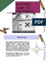 1.0 Strain Analysis
