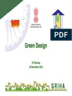 Green Design -Griha - Siva Kishan