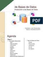 Curso de Bases de Datos