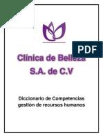 Catalogo de Competencias Clinica de Belleza