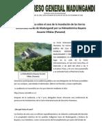 Audiencia Pública sobre el caso de la Hidroeléctrica Bayano