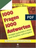 1000 Fragen 1000A ntworten -Wirtschaftdeutsch