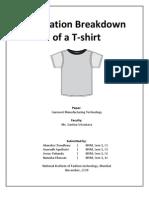 T-Shirt Operation Breakdown