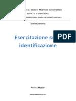 Relazione Esercitazione - Maestri
