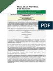 Reglamento Proteccion Civil Badajoz