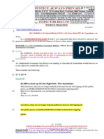 20140401-G. H .Schorel-Hlavka O.W.B. to Mr Tony Abbott PM- Re Expenditures Etc