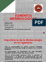Elementos Metereologicos