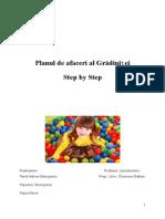 Plan de Afaceri Gradinita