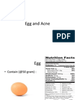 Egg and Acne