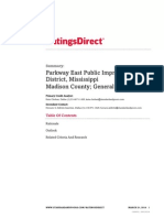 Parkway East Pub Imp Dist _ Madison Cnty 2014 Review 3-27- S&P
