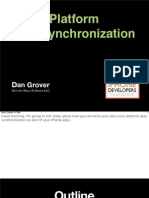 Cross-Platform Data Synchronization