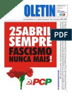 Décimo Boletín del Ateneo Paz y Socialismo