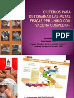 Criterios de programación PpR 2014
