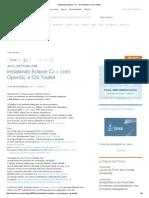 Instalando Eclipse C++ Com OpenGL e CG Toolkit