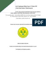 Keputusan Menteri Lingkungan Hidup Nomor 13 Tahun 1995