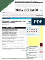 Aposentada é condenada a quatro anos de prisão por racismo - 22_02_2014 - Cotidiano - Folha de S