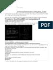 Reset FreeBSD Root Password